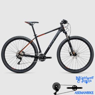 نمایندگی دوچرخه کیوب مدل اتنشن اس ال سایز 29 CUBE ATTENTION SL 2017