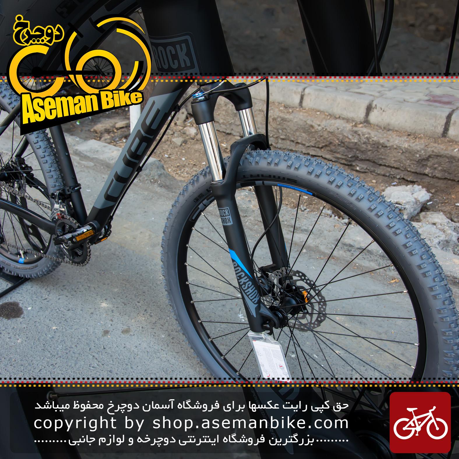 دوچرخه کوهستان کیوب مدل اتنشن سایز 27.5 2018 CUBE Off Road ATTENTION 2017 27.5