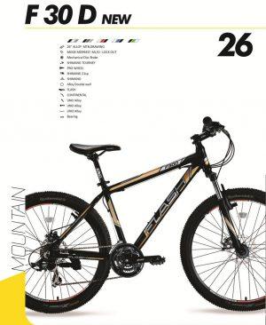 نمایندگی دوچرخه فلش مدل سایز ۲۶ Flash F30D NEW 2016