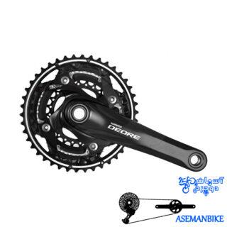 طبق قامه دوچرخه شیمانو دیور اف سی 610 Shimano Deore FC-M610 Crankset