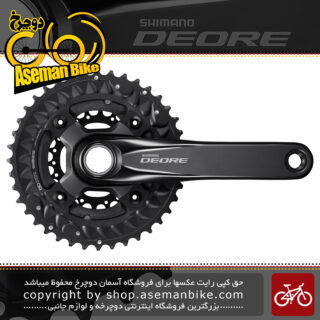 طبق قامه دوچرخه شیمانو دیور اف سی 6000 3 سرعته Shimano FC-M6000 3 DEORE 10-SP 40-30-22T