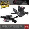 دسته دنده شیمانو آسرا 3 در 8 سرعته Shimano SL M310 Acera 3X8