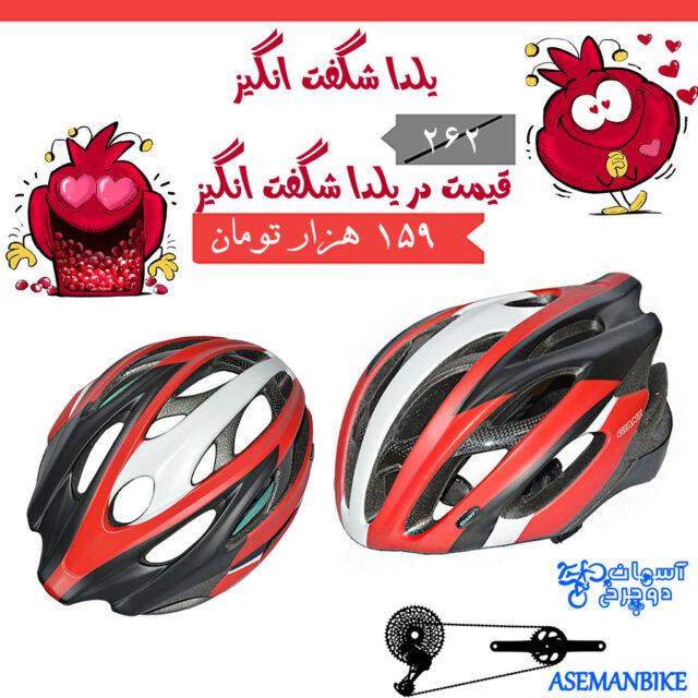 کلاه دوچرخه سواری کربن جاینت مدل آرس Giant Helmet Ares Crabon Fiber