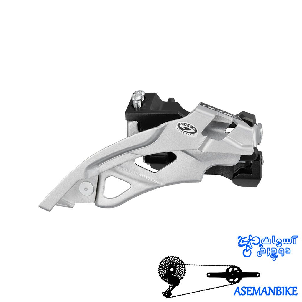 طبق عوض کن دوچرخه شیمانو الیویو Shimano ALIVIO FD-M430