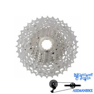 خودرو دوچرخه شیمانو 10 سرعته ایکس تی Shimano CS M771-10 XT 10 SPEED