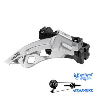 طبق عوض کن دوچرخه شیمانو دیور Shimano DEORE FD-M610 34.9mm 42T