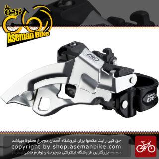 طبق عوض کن دوچرخه شیمانو دیور Shimano Deore FD-M610-B TOP SWING Front Derailleur (3x10-speed)