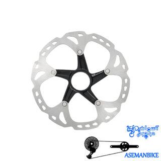 روتور دیسک دوچرخه شیمانو دیور ایکس تی Shimano Disc Rotor DEORE XT 180M-SM-RT81