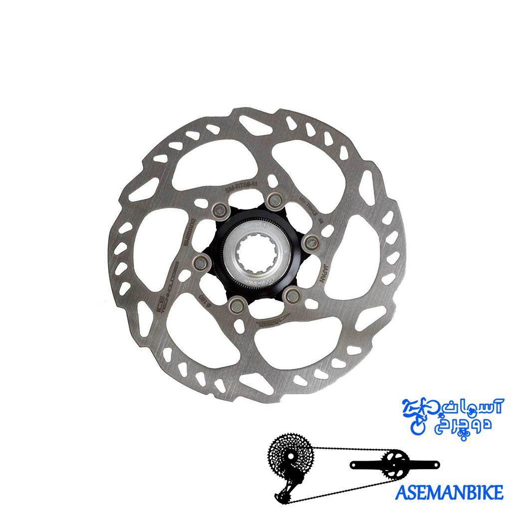 روتور دیسک دوچرخه شیمانو Shimano Disc Rotor SM-RT68 L 203MM