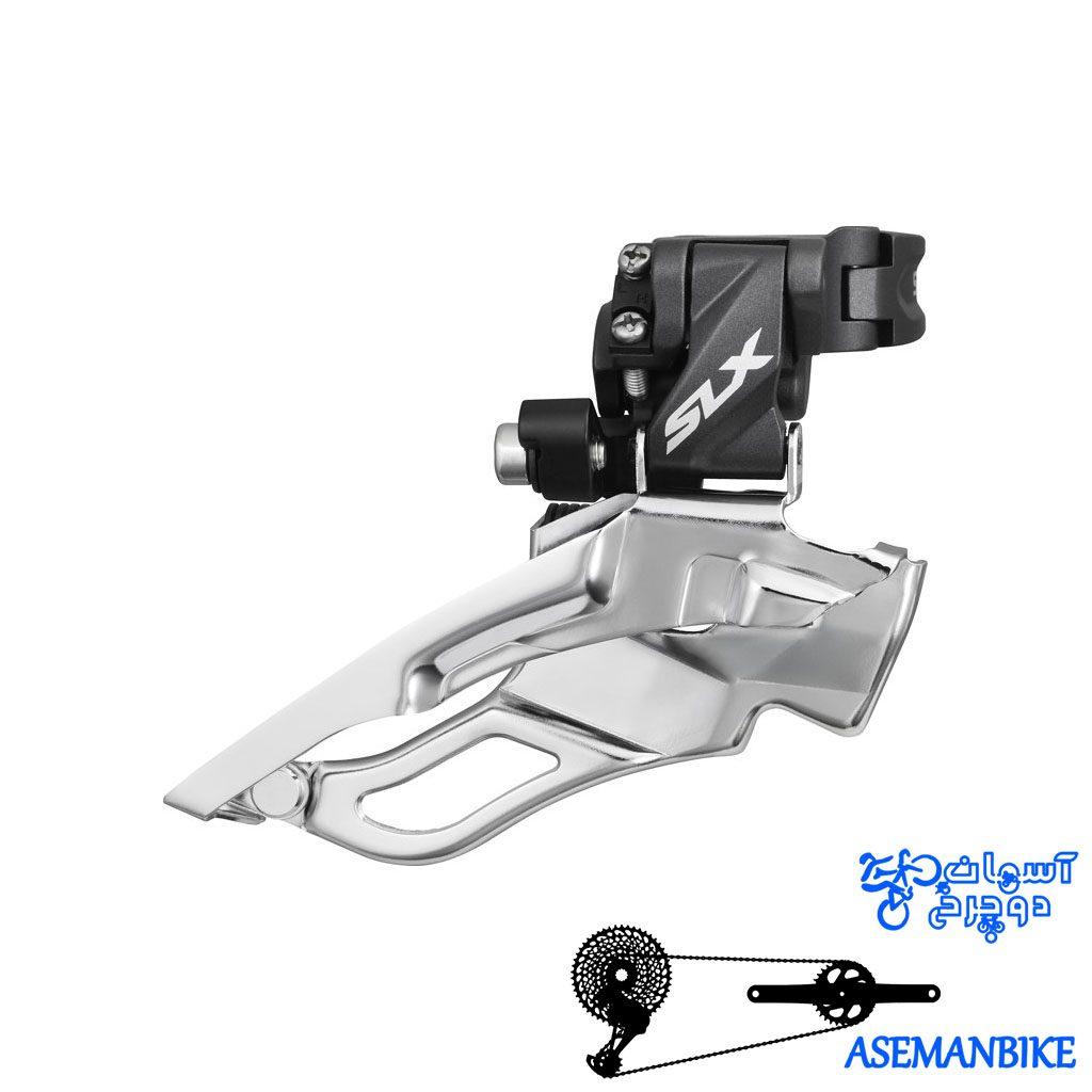 طبق عوض کن دوچرخه شیمانو اس ال ایکس Shimano M671-SLX-TRIPLE 34.9mm