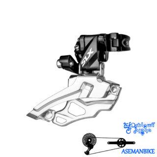 طبق عوض کن دوچرخه شیمانو اس ال ایکس Shimano M676-SLX 34.9M