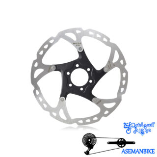 روتور دیسک دوچرخه شیمانو دیور ایکس تی Shimano Rotor Disc DEORE XT180M-SM-RT76 6-BOLT