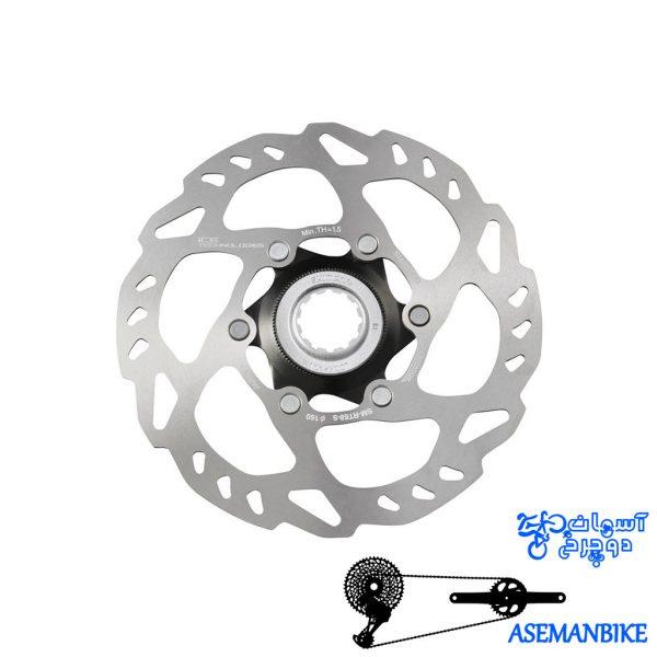 دیسک روتور دوچرخه شیمانو Shimano Rotor Disc SM-RT68 S160MM