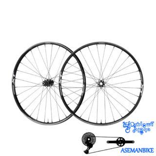 طوقه کامل دوچرخه شیمانو ایکس تی Shimano WH-M8000 XT