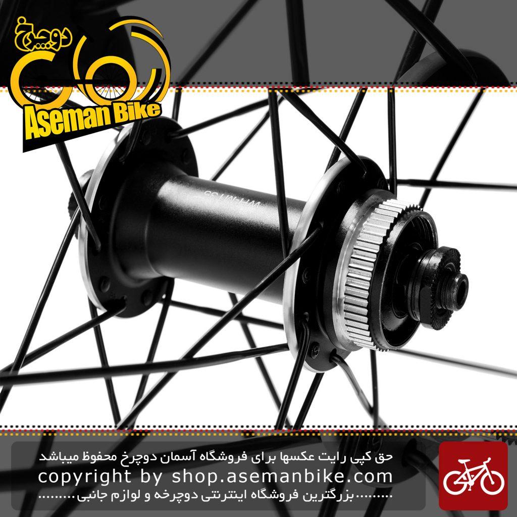 طوقه کامل جلو و عقب دوچرخه شیمانوام تی 35 سایز 29 Shimano Wheelset WH-MT35-29