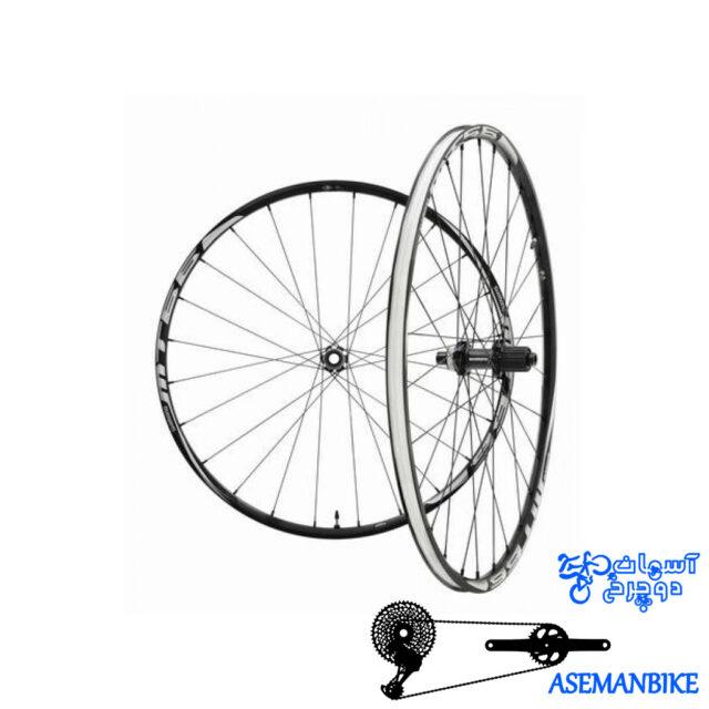 طوقه کامل تیوبلس دوچرخه شیمانو Shimano WH-MT66 TUBELESS