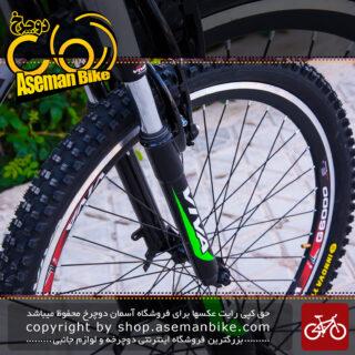دوچرخه کوهستان شهری ویوا مدل الماس 21 دنده سایز 26 ساخت تایوان Viva Mountain City Taiwan Bicycle ALMAS 18 26 2018