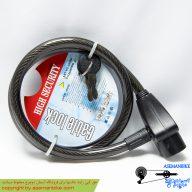 قفل کابلی اسپیرال لاک 850*12 میلیمتری Cable Lock