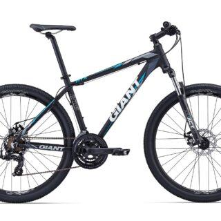 دوچرخه کوهستان دو منظوره جاینت مدل ای تی ایکس 2 مشکی آبی سایز 27.5 Giant ATX 27.5 2 2017