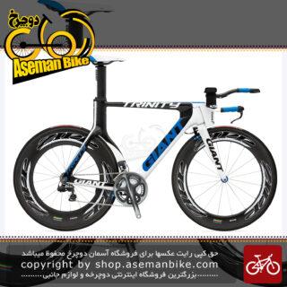 دوچرخه حرفه ای کورسی جاده جاینت مدل ترینیتی کربن ادونس اس ال 0 با سیستم دنده برقی دورایس Giant Trinity Advanced SL 0 2011