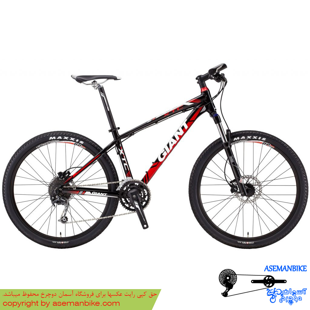 دوچرخه کوهستان جاینت مدل ایکس تی سی الیت سایز 26 Giant XTC Elite 2013