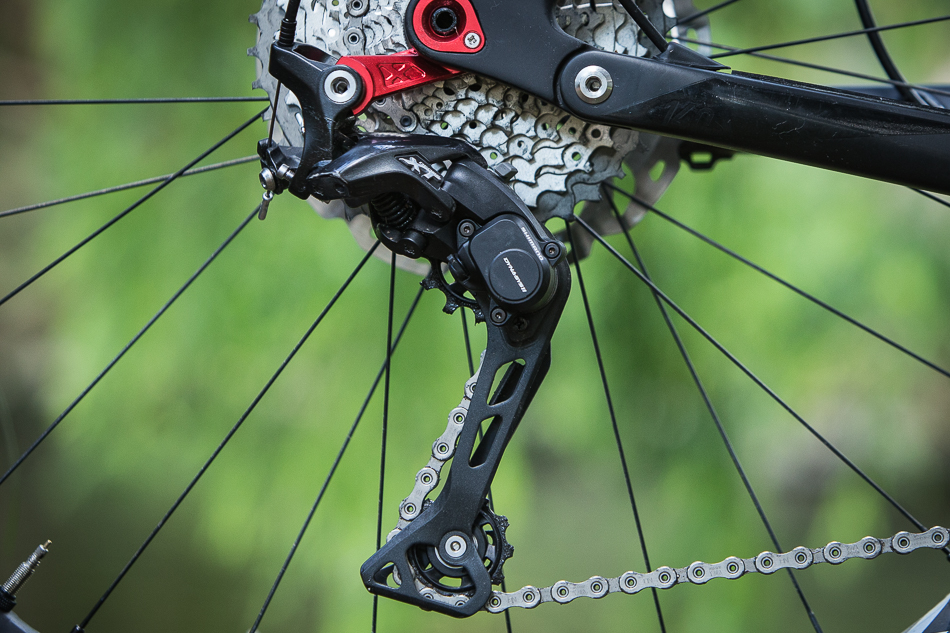 شانژمان دوچرخه کوهستان شیمانو ۱۰ سرعته Shimano XT RD-M8000