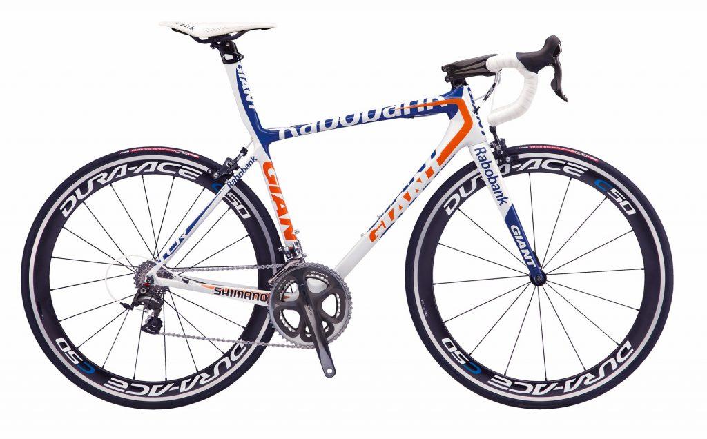 دوچرخه جاده جاینت مدل تی سی آر Giant TCR Advanced Rabobank ISP 2012