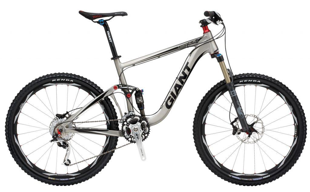 دوچرخه کوهستان جاینت مدل ترنس Giant Trance X1 2011