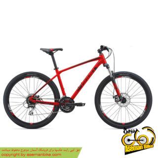 دوچرخه کوهستان دو منظوره جاینت مدل ای تی ایکس 1 قرمز سایز 27.5 2018 Giant Mountain Bicycle ATX 1 27.5 2018