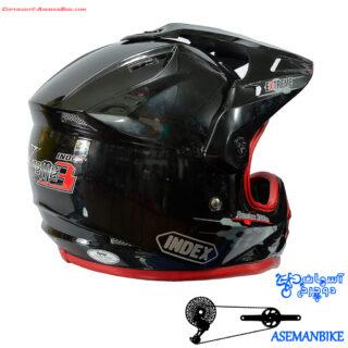 کلاه دانهیل و کراسی ایندکس مدل اکسترم 3 Index Helmet Extereme 3