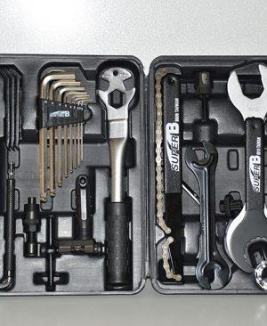 مجموعه ابزار حرفه ای تخصصی دوچرخه سوپر بی 37 تیکه Super B bicycle tool sets 97900