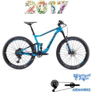 دوچرخه کراس کانتری فول ساسپنشن کربن جاینت مدل انتم ادونس 0 سایز 27.5 2017 Giant Anthem Advanced 0