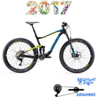 دوچرخه کراس کانتری فول ساسپنشن کربن جاینت مدل انتم ادونس 1 سایز 27.5 2017 Giant Anthem Advanced 1