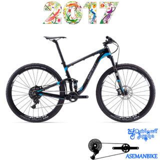 دوچرخه کراس کانتری فول ساسپنشن کربن جاینت مدل انتم ایکس ادونس سایز 29 2017 Giant Anthem Advanced X 29er