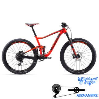 دوچرخه کوهستان جاینت مدل انتم اس ایکس 2 سایز 27.5 2017 Giant Anthem SX 2