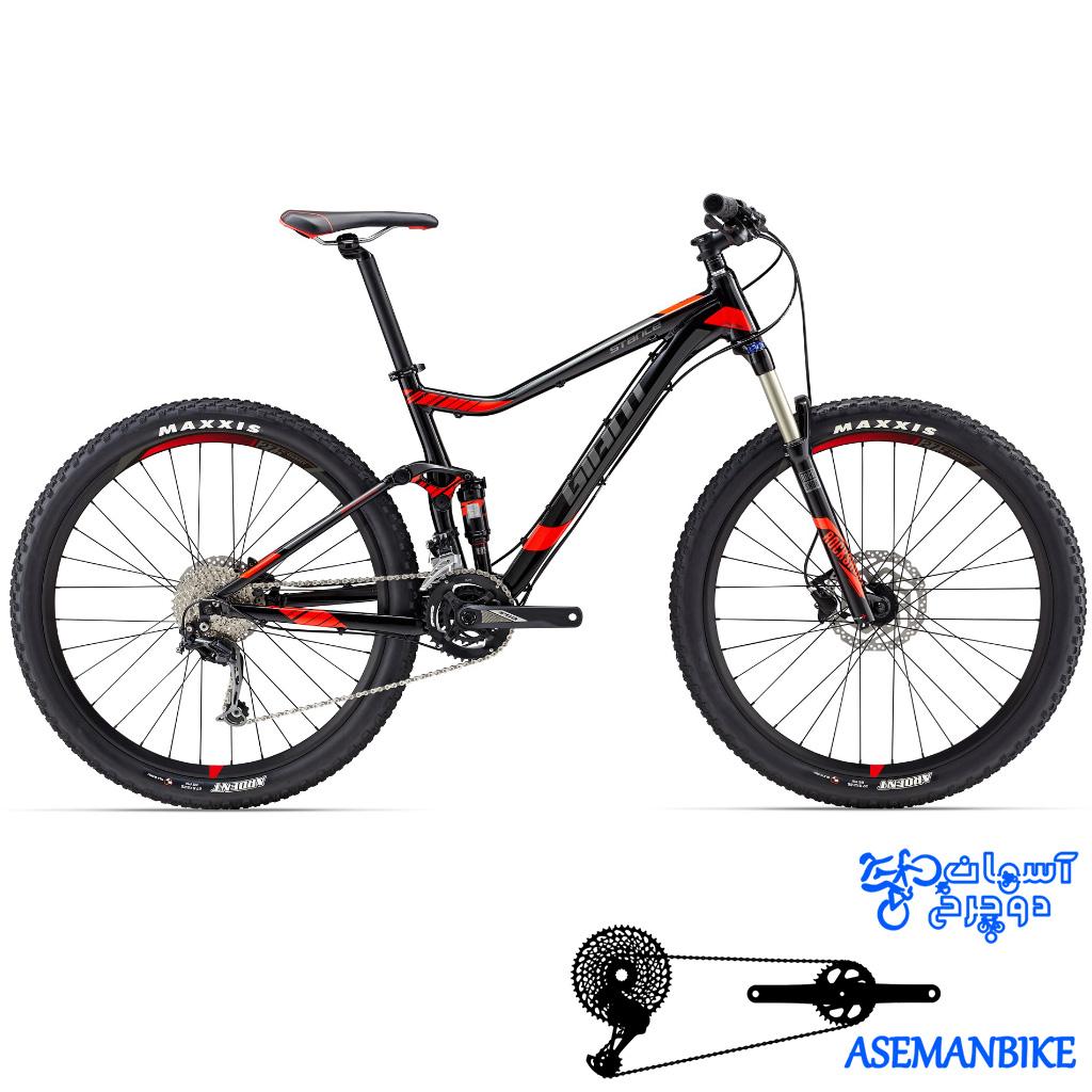 دوچرخه کوهستان جاینت مدل استنس 2 سایز 27.5 2017 Giant Stance 2 27.5