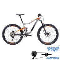 دوچرخه کوهستان جاینت مدل ترنس 1 سایز 27.5 2017 Giant Trance 1 27.5
