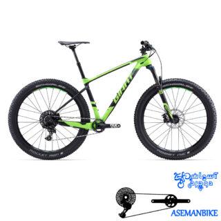 دوچرخه کوهستان جاینت مدل ایکس تی سی ادونس سایز 27.5 پلاس 2 2017 Giant XTC Advanced 27.5 +1