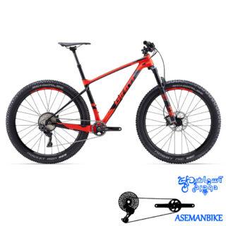 دوچرخه کوهستان جاینت مدل ایکس تی سی ادونس سایز 27.5 پلاس وان 2017 Giant XTC Advanced 27.5+1