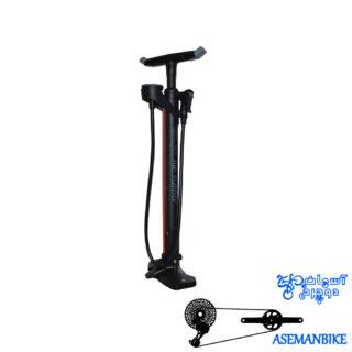 تلمبه زمینی دوچرخه جیو درجه دار فشار بالا 160 پی اس آی Giyo Floor Pump GF-41V