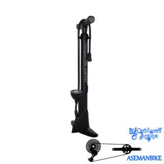 تلمبه زمینی دوچرخه جیو درجه دار فشار بالا 160 پی اس آی Giyo Floor Pump GF-45