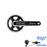 طبق قامه دوچرخه شیمانو مدل اس ال ایکس Shimano Crankset SLX FC-M7000-11-B1