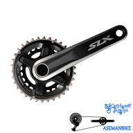 طبق قامه دوچرخه شیمانو مدل اس ال ایکس Shimano Crankset SLX FC M7000 11 B2