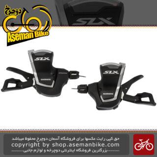 دسته دنده دوچرخه شیمانو 2/3 در 11 سرعته مدل اس ال ایکس Shimano Shifter Bicycle SLX SL-M7000 2/3x11 Speed Japan