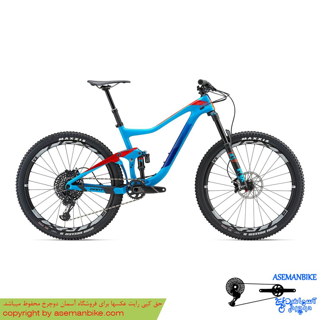 دوچرخه کوهستان جاینت مدل ترنس ادونس 1 سایز 27.5 2018 Giant Trance Advanced 1