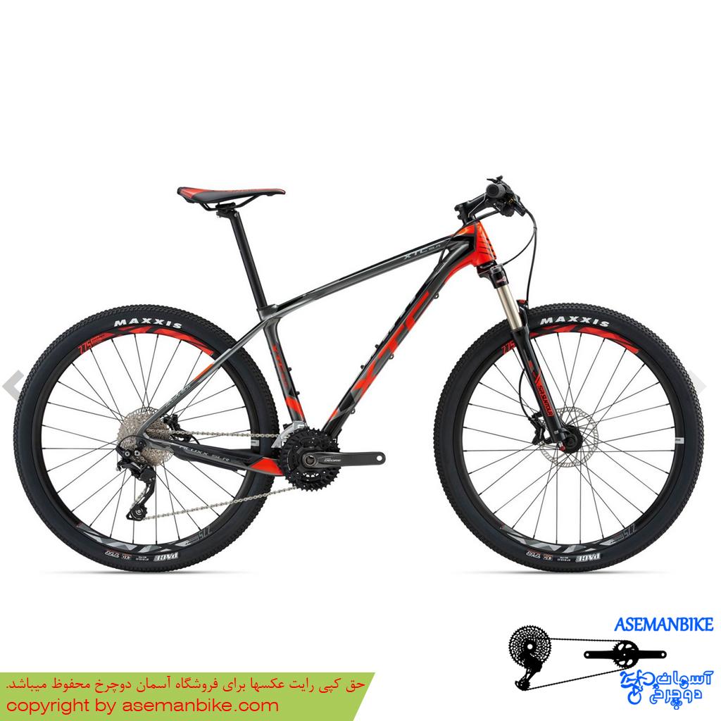 دوچرخه کوهستان جاینت مدل ایکس تی سی اس ال آر 3 قرمز سایز 27.5 2018 Giant Mountain Bike XTC SLR 3 27.5 2018
