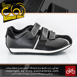کفش دوچرخه سواری قفلی لاک کوهستان جاینت مدل مونتارا 2 Giant Bicycle Shoes Montara 2 SPD Lock Black