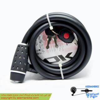 قفل کابلی دوچرخه اوکی مدل کلیدی 003 004 OK Security Cable Lock