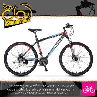 دوچرخه کوهستان شهری راپیدو مدل پرو 1 سایز 27.5 با سیستم دنده 24 سرعته دیسک هیدرولیک MTB BICYCLE RAPIDO Pro 1 27.5 2021