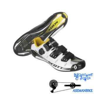 کفش کورسی اسکات مدل تیم کربن Scott Shoes Team Carbon